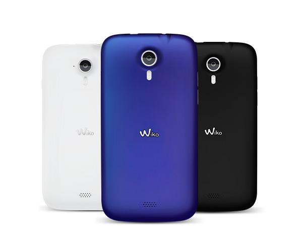 Wiko Cink Five Dual SIM, unlocked Smartphone BLACK